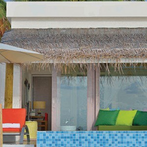 OBLU by Atmosphere at Helengali - Luxury Maldives Honeymoon Packages - Lagoon Villas with plunge pool exterior1