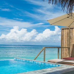 OBLU by Atmosphere at Helengali - Luxury Maldives Honeymoon Packages - Lagoon Villas with plunge pool view1