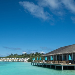 OBLU by Atmosphere at Helengali - Luxury Maldives Honeymoon Packages - The Spice Restaurant exterior