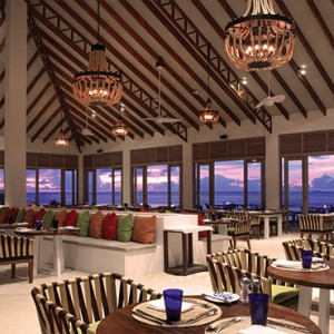 OBLU by Atmosphere at Helengali - Luxury Maldives Honeymoon Packages - The Spice Restaurant interior1