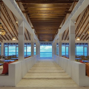 OBLU by Atmosphere at Helengali - Luxury Maldives Honeymoon Packages - The Spice Restaurant interior3