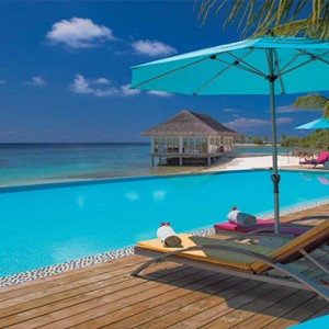 OBLU by Atmosphere at Helengali - Luxury Maldives Honeymoon Packages - adult only pool