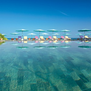 OBLU by Atmosphere at Helengali - Luxury Maldives Honeymoon Packages - pool