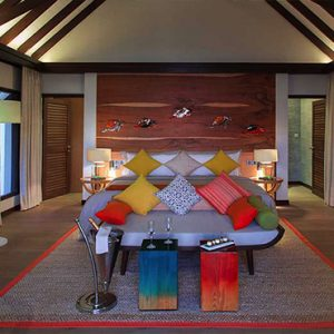 Ozen By Atmosphere At Maadhoo Island Luxury Maldives Honeymoon Packages Earth Villa With Pool Interior1