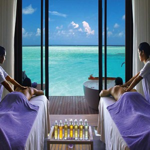 Ozen by Atmosphere at Maadhoo Island - Luxury Maldives Honeymoon Packages - Elena Spa treatment interior view