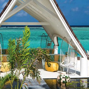 Ozen by Atmosphere at Maadhoo Island - Luxury Maldives Honeymoon Packages - Elena Spa wedding pavilion