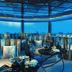 Ozen by Atmosphere at Maadhoo Island - Luxury Maldives Honeymoon Packages - M6m underwater restaurant1