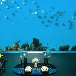 Ozen by Atmosphere at Maadhoo Island - Luxury Maldives Honeymoon Packages - M6m underwater restaurant2