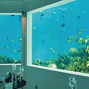 Ozen by Atmosphere at Maadhoo Island - Luxury Maldives Honeymoon Packages - M6m underwater restaurant4