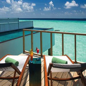 Ozen By Atmosphere At Maadhoo Island Luxury Maldives Honeymoon Packages Wind Villa With Pool Exterior Pool