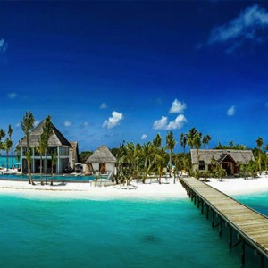Ozen by Atmosphere at Maadhoo Island - Luxury Maldives Honeymoon Packages - resort exterior