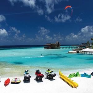 Ozen by Atmosphere at Maadhoo Island - Luxury Maldives Honeymoon Packages - watersport activities1