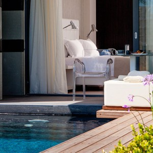 Pool Signature Suite - Aqua Boutique Hotel and Spa - Luxury Greece Honeymoon Packages