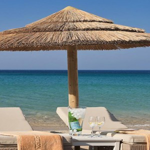Royal Myconian Hotel and Thalassa Spa - Luxury Greece Honeymoon Packages - Beach