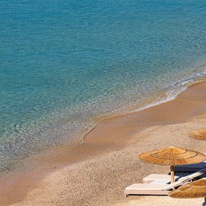 Royal Myconian Hotel and Thalassa Spa - Luxury Greece Honeymoon Packages - Junior suite beach view