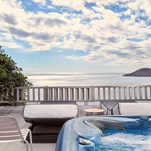 Royal Myconian Hotel and Thalassa Spa - Luxury Greece Honeymoon Packages - Premium Double jacuzzi