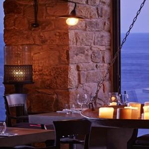 Royal Myconian Hotel and Thalassa Spa - Luxury Greece Honeymoon Packages - Restaurant