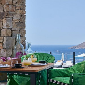Royal Myconian Hotel and Thalassa Spa - Luxury Greece Honeymoon Packages - Restaurant1