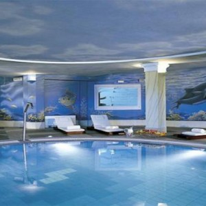Royal Myconian Hotel and Thalassa Spa - Luxury Greece Honeymoon Packages - spa pool