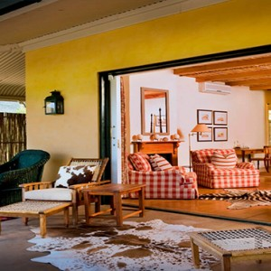 Samara Private Game Reserve - Luxury South Africa Honeymoon Packages - Karoo Suite terrace