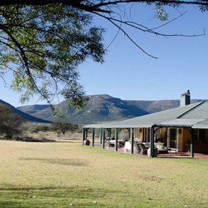 Samara Private Game Reserve - Luxury South Africa Honeymoon Packages - Karoo lodge accommodation exterior