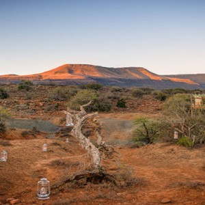 Samara Private Game Reserve - Luxury South Africa Honeymoon Packages - Star bed treehouse