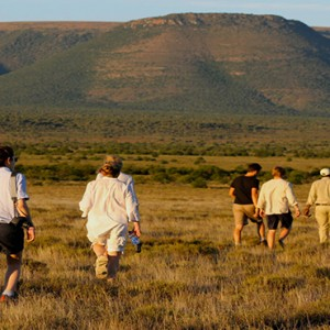 Samara Private Game Reserve - Luxury South Africa Honeymoon Packages - Walking safari
