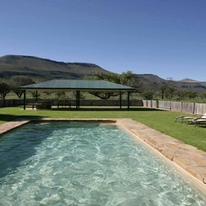 Samara Private Game Reserve - Luxury South Africa Honeymoon Packages - pool
