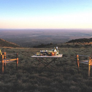 Samara Private Game Reserve - Luxury South Africa Honeymoon Packages - romantic safari dinner