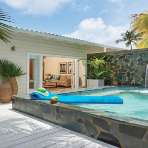Serenity at Coconut Bay - Luxury St lucia Honeymoon Packages - Premium Plunge Pool Butler suite plunge pool