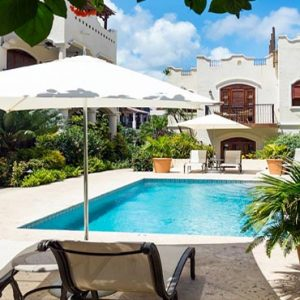 St Lucia Honeymoon Packages Cap Maison, St Lucia Courtyard Pool