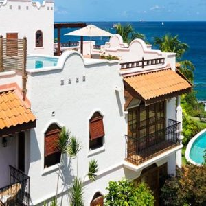 St Lucia Honeymoon Packages Cap Maison, St Lucia Ocean View Villa Suite Exterior