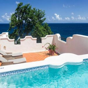 St Lucia Honeymoon Packages Cap Maison, St Lucia Ocean View Villa Suite With Pool Exterior