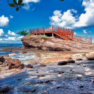 St Lucia Honeymoon Packages Cap Maison, St Lucia Rock Maison From Steps