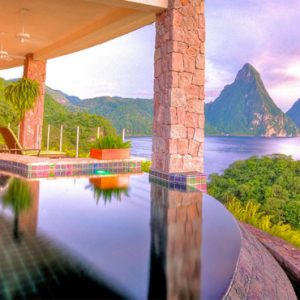 St Lucia Honeymoon Packages Jade Mountain Galaxy Sanctuary