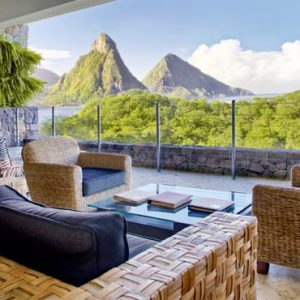 St Lucia Honeymoon Packages Jade Mountain Sky Suite 4