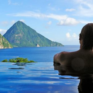 St Lucia Honeymoon Packages Jade Mountain Couple