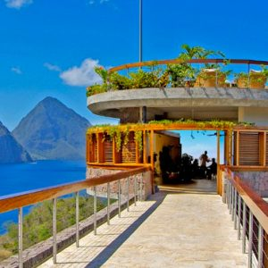 St Lucia Honeymoon Packages Jade Mountain Exterior 3
