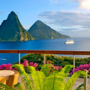 St Lucia Honeymoon Packages Jade Mountain Pitons