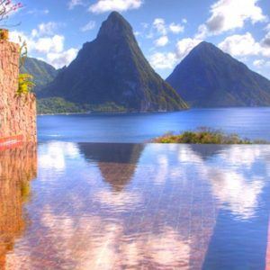 St Lucia Honeymoon Packages Jade Mountain Pool 4
