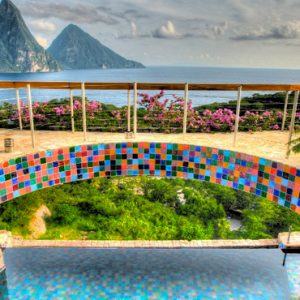 St Lucia Honeymoon Packages Jade Mountain Pool 6