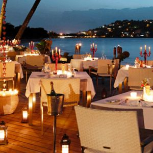St Lucia Honeymoon Packages Rendezvous St Lucia Dining 3