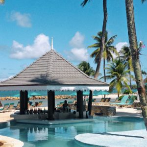 St Lucia Honeymoon Packages Rendezvous St Lucia Pool 2