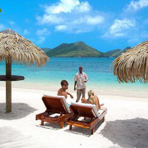 St Lucia Honeymoon Packages Sandals Grande St Lucian Resort Beach 3