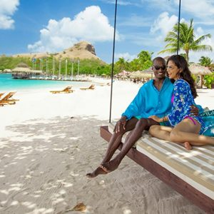 St Lucia Honeymoon Packages Sandals Grande St Lucian Resort Beach 4