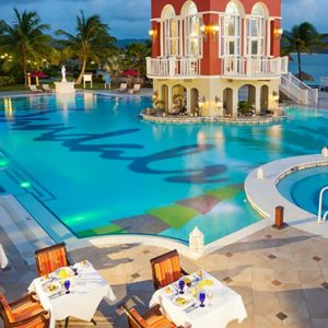 St Lucia Honeymoon Packages Sandals Grande St Lucian Resort Dining 3