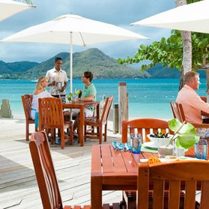 St Lucia Honeymoon Packages Sandals Grande St Lucian Resort Dining 5