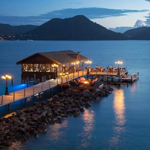St Lucia Honeymoon Packages Sandals Grande St Lucian Resort Dining 8