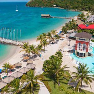 St Lucia Honeymoon Packages Sandals Grande St Lucian Resort Exterior