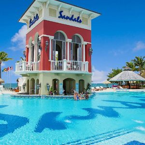 St Lucia Honeymoon Packages Sandals Grande St Lucian Resort Pool 2